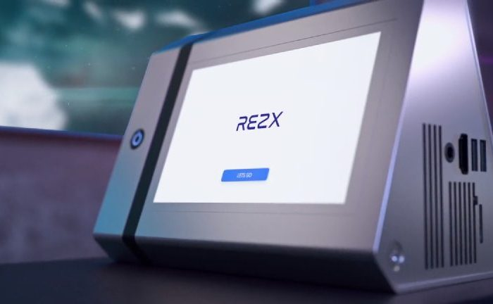 Rezx - A Standalone 4K Projector With An Integrated Screen