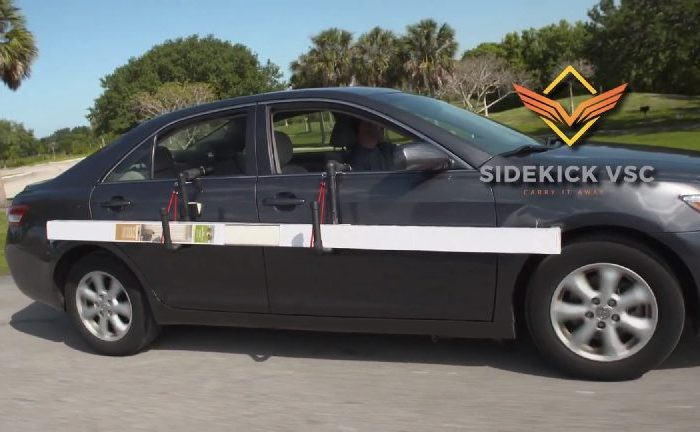 Sidekick VSC - Side-mount car carrier for hassle-free hauling of long items