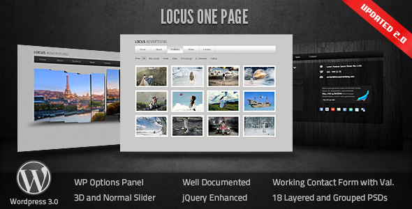 Top 10 Professional One Page WordPress Themes