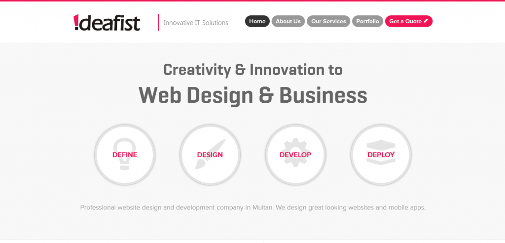 Website Design Company Multan Pakistan Website Designing Pakistan