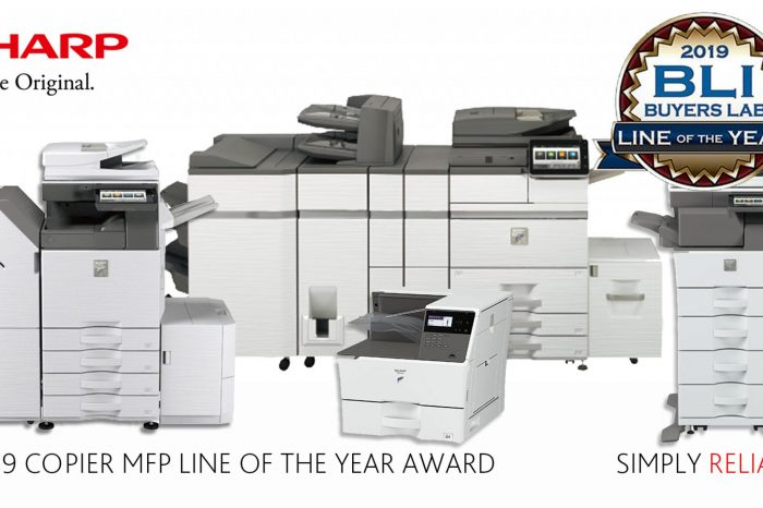 Best Office Printer Copier in 2019 – Winner of MPF Line of the Year 2019 by BLI