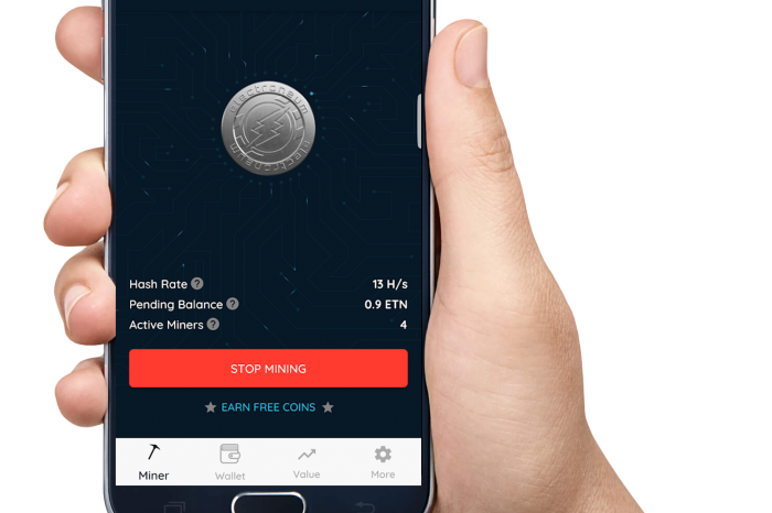 Electroneum Cryptocurrency Mining From Smartphone Technology