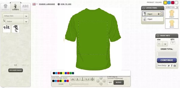 Custom T-Shirt Design Software